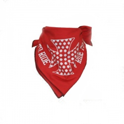 Chusta, bandana LIVE TO RIDE RED